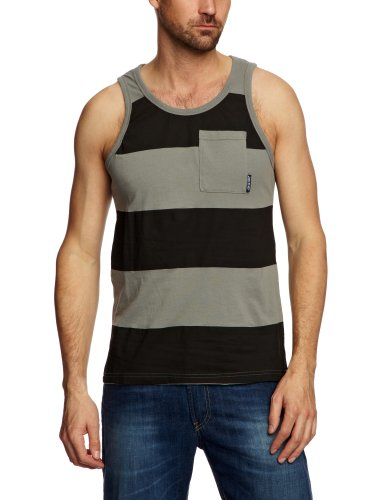 Santa Cruz Bowery Men's Vest Vintage Grey X-Small