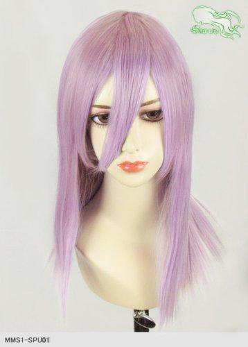 スキップウィッグ 魅せる シャープ 小顔に特化したコスプレアレンジウィッグ フェアリーミディ ライトパープル