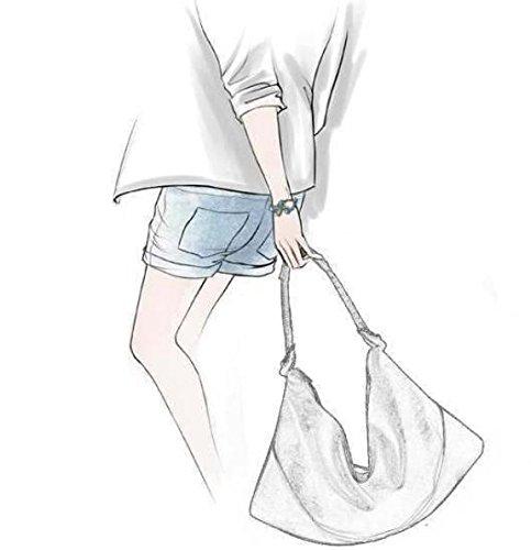 ZY Baodan spalla borse donna. Pacchetti di grandi dimensioni in morbida pelle. Gnocchi di moda casual. Borse tracolla , black