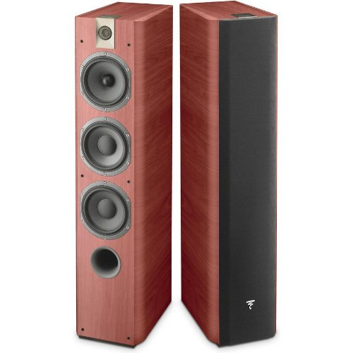 Focal - Chorus 726 3-Way Bass-Reflex Floorstanding Speaker Rosewood (Pair)