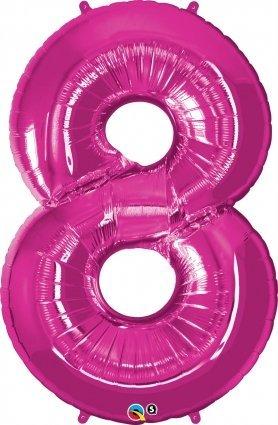 elio-elementare-sventare-palloncino-34-numero-8-metallica-magenta-per-addobbi