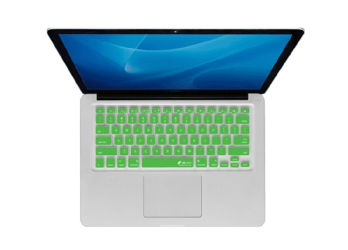 Kb Covers Checkerboard Keyboard Cover For Macbook, Macbook Air 13 Inch, And Macbook Pro (Unibody) (Cb-M-Green)
