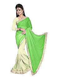 Sonani Fashion Women's Georgette bollywood designer sarees for party wear low rate sell price sarees with blouse