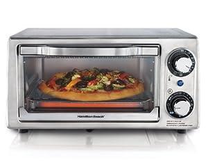 Hamilton Beach 31138 Stainless Steel 4-Slice Toaster Oven by Hamilton Beach