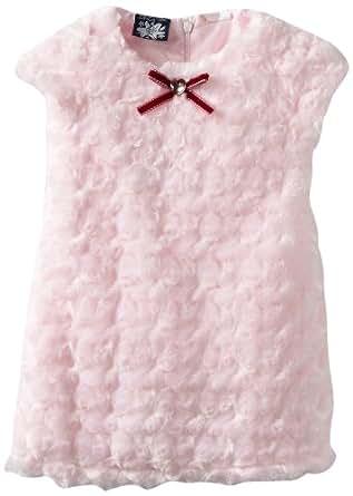 So La Vita Baby Girls' Sequined Bodice Dress, Pink, 24 Months