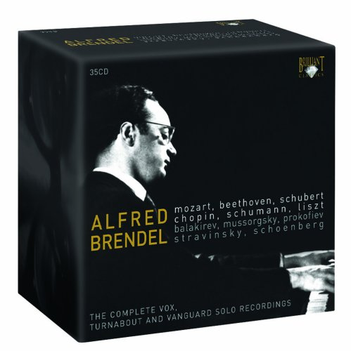 Alfred Brendel: The Complete Vox, Turnabout and Vanguard Solo Recordings [Box Set]
