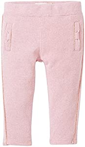 kate spade york Baby Girls' Bow Sweatpants-Strawberry Cream