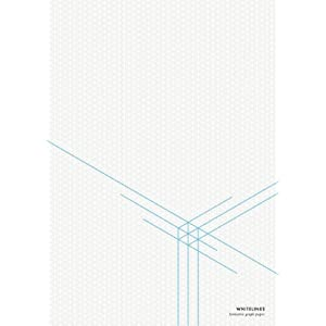 buy whitelines a4 isometric graph paper book