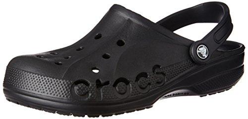 crocs baya blk 10126 001 unisex erwachsene clogs pantoletten schwarz black 001 eu 36 37. Black Bedroom Furniture Sets. Home Design Ideas