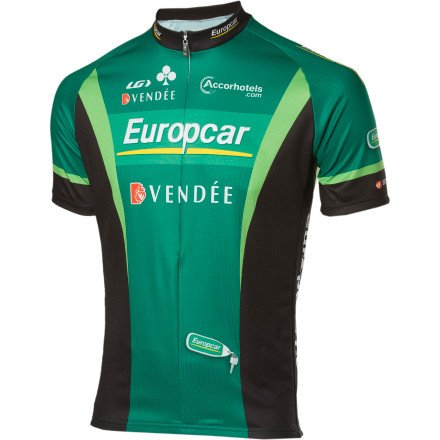 Buy Low Price Louis Garneau Europcar Replica Jersey – Short-Sleeve – Men's Europcar, L (2820619-4Q4-L)