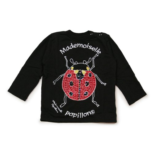"Mademoiselle Papillon (""Miss Butterfly"") - Tee-Shirt - Long-Sleeve - Lady Bug"