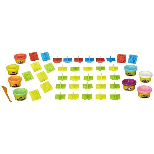 Play-Doh Numbers Letters N Fun Art Multi Kids Games Playdough 1 Toys Toddler Sets Children Brand New (Play Dough Mats compare prices)