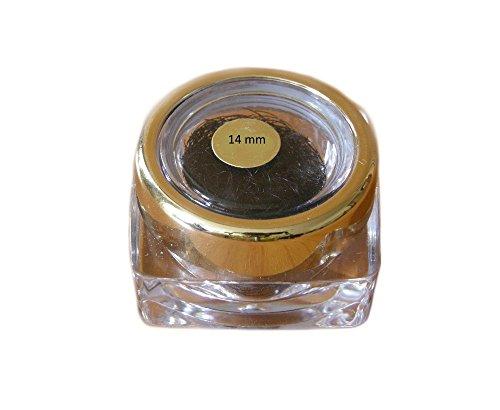 cils en soie - cils de qualité professionnelle, des cils clin styliste alternatif, C Curl 0.15mm avec une longueur de 14mm, les cils de soie de haute qualité pour l'extension des cils!