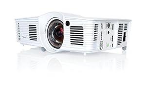 Optoma G1080e DLP Projektor (16:9, Kontrast 25000:1, 1920 x 1080 Pixel, 3000 ANSI Lumen, HDMI) weiß
