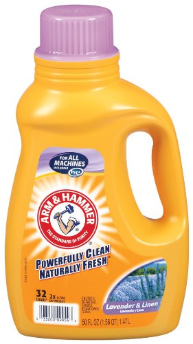 Arm & Hammer Liquid Laundry Dual He, Lavender and Linen