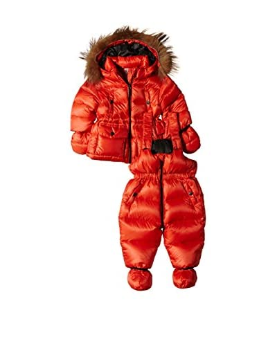 ADJ Coordinato Bimbo Down Set Detachable Fur