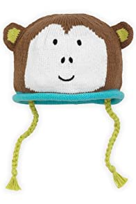 Joobles Organic Baby Hat - Mel the Monkey