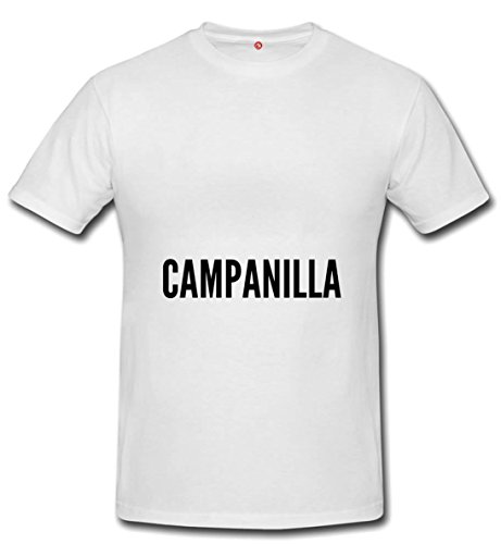T-shirt Campanilla city white