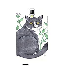 EPICCASE Chubby Cat Mobile Back Case Cover For Micromax Canvas Xpress A99 (Designer Case)
