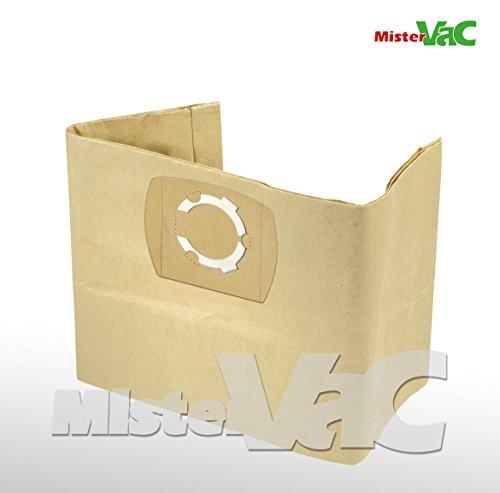 10x-Staubsaugerbeutel-geeignet-Parkside-PNTS-1500-B3-Nass-Trockensauger