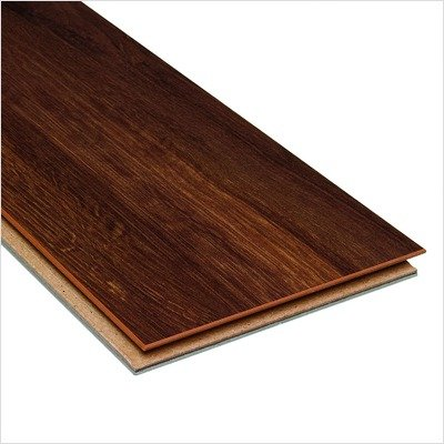 High Gloss 10mm Click Lock Hawaiian Koa Laminate With