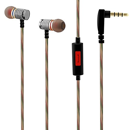 VersionTech-In-Ear-Wired-Headphones-Earphones-Earbuds-Headset-with-Microphone-for-iPhone-iPad-Android-Phones-Windows-Phones-MP3-MP4-and-Tablets