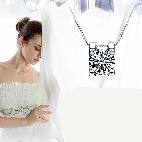 LadyHouse South Korean Shinny Fashion Nobel Crystal Pendant Jewelry Clothes Accessories Necklace