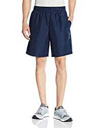 Reebok Men's Synthetic Shorts (4056563924310_AF2144_Small_Blue)