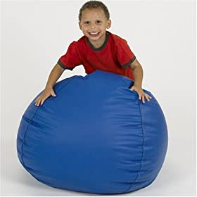 Cozy Beanbag Chair - Blue