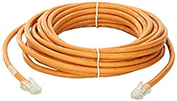 25ft Cat6 Non-Booted Unshielded (UTP) Ethernet Network Patch Cable - Orange