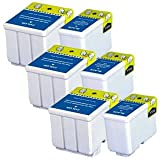 3 Sets of Compatible Black & Colour Printer Ink Cartridges to replace T051/T052 (6 Inks) for use in Epson Stylus Colour 740, 740i, 760, 800, 800N, 810, 850, 850N, 850NE, 860, 1160, 1500, 1520, 1520K, 1520H & Epson Stylus Scan 2000, 2500, 2500 Pro