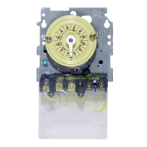 Intermatic T101M 24-Hour Mechanical Timer Spst