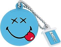 Emtec Smiley's world Happy Days (Blue) pendrive