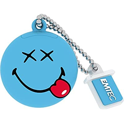 Emtec Smiley's world Happy Days (Blue) pendrive