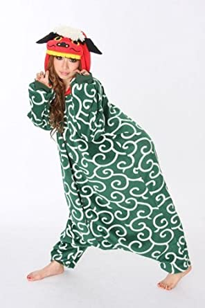 Shishimai Dance Lion Kigurumi - Japanese Sazac Cosplay Costume Pajamas