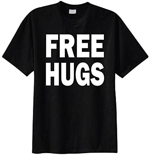MarjoMouzon Summer Free Hugs T-shirt For Men Tee - Medium