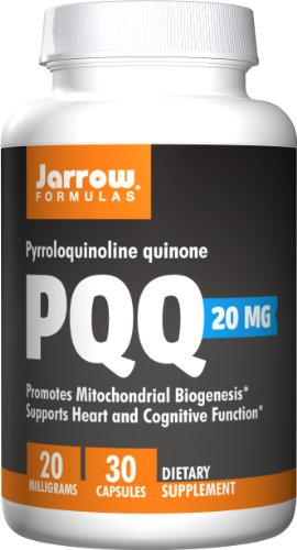 Jarrow Formulas Pyrroloquinoline Quinone Nutritional Supplements, 20 Mg, 30 Count