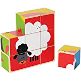Hape E0422 Farm Animals Block Puzzle