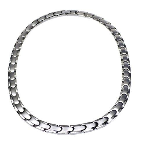 Men's Tempo Titanium Magnetic Power Golf Link Necklace