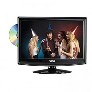 13.3 Inch Naxa NTD-1352 12V AC/DC Widescreen HD LED 1080i HDTV ATSC Digital Tuner with DVD Player