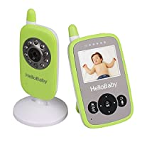 Baby Monitor Video HelloBaby Infant Camera Night Vision Temperature Monitors from Videotimes