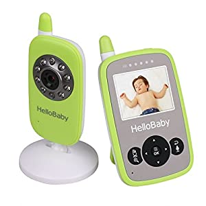 Baby Monitor Video HelloBaby Infant Camera Night Vision Temperature Monitors by Videotimes