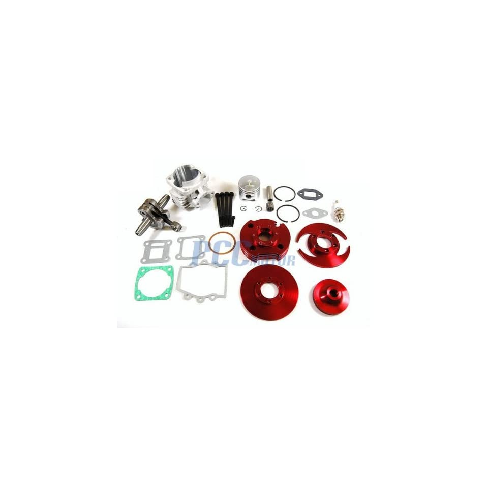 PCC Motor 44Mm Big Bore Top End Kit For Atv Pocket Bike 2