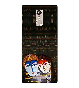 EPICCASE Lord krishna Mobile Back Case Cover For Gionee S6S (Designer Case)