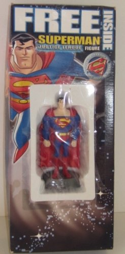 """Justice League 4"""" Figure Post Cereal Superman Promo Action Figure (1998) - 1"""