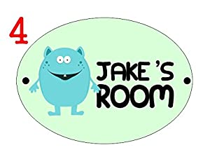 Kids Childrens Childs Bedroom Door Name Plate Plaque Plack Sign Personalised With Your Childs