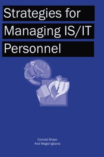 Strategies for Managing IS/IT Personnel PDF Download Free