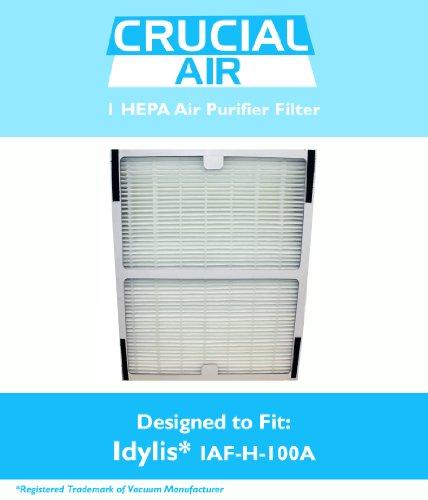 idylis hepa air purifier filter fits idylis air purifiers iap10100 iap10150