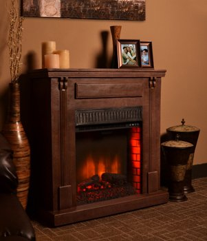 Bond Manufacturing 68002 Rustic Electric Fireplace, image B00AR4HEQW.jpg