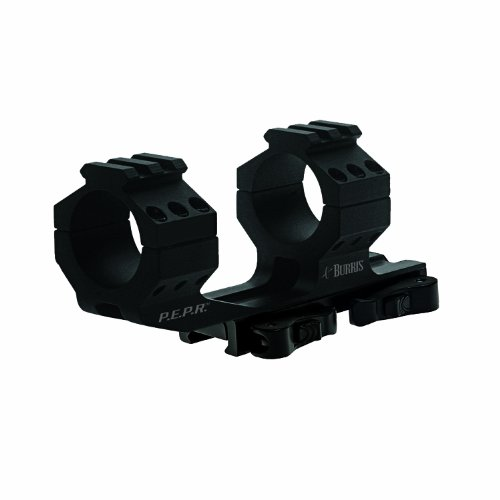 Cheapest Price! Burris 410344 AR-PEPR 1-Inch Mount Quick Detach with Picatinny Tops (Black)